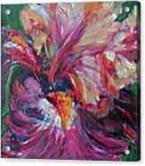 Iris - Bold Impressionist Painting Acrylic Print