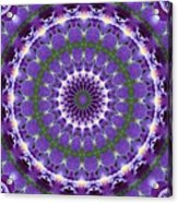 Iris Kaleidoscope  Acrylic Print