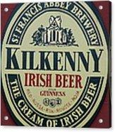 Irish Beer Acrylic Print
