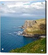 Irish Cliffs Acrylic Print