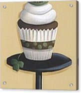 Irish Coffee Cupcake Acrylic Print