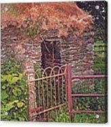 Irish Cottage Of Long Ago Acrylic Print