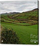 Irish Countryside Hdr Acrylic Print