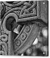 Irish Cross Marker Acrylic Print