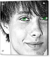 Irish Eyes Acrylic Print by Michael Taggart