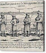 Irish Mercenaries In Stettin Acrylic Print