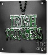 Irish Princess Acrylic Print