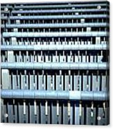 Iron Benches Acrylic Print