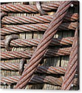 Iron Cables Acrylic Print