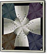 Iron Cross Ironic Cross Acrylic Print