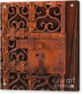 Iron Door Acrylic Print