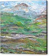 Iron Hills Acrylic Print