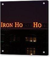 Iron Ho-ho Acrylic Print