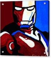 Iron Man 2 Acrylic Print by Barbara McMahon