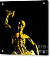 Iron Man II Acrylic Print by Al Bourassa