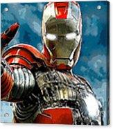 Iron Man Acrylic Print