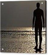 Iron Man Waiting For Sunset 1 Acrylic Print