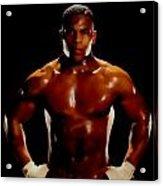 Iron Mike Tyson Acrylic Print