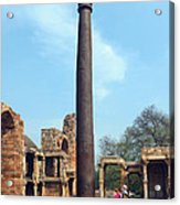 Iron Pillar Of Qutb Acrylic Print