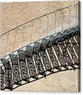 Iron Stairs Shadow Acrylic Print