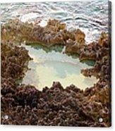 Ironshore Tidewater Pool Acrylic Print