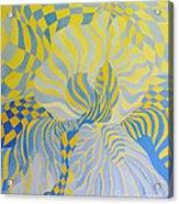 Irreverant Iris Acrylic Print