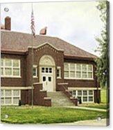 Irvington School Acrylic Print