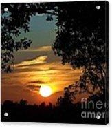 Is It Sun Up Or Sun Down Acrylic Print
