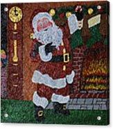 Is Santa Here Yet? Acrylic Print