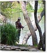 Is The Fisherman Real? Acrylic Print