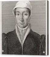 Isabella Of France  Consort Of Edward Acrylic Print