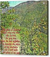 Isaiah 60 13 Acrylic Print