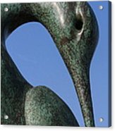 Isis Sculpture Front Acrylic Print
