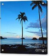 Isla Secas Acrylic Print