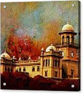 Islamia College Lahore Acrylic Print by Catf