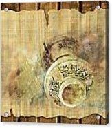 Islamic Calligraphy 037 Acrylic Print by Catf