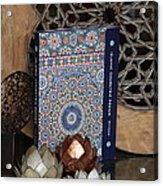 Islamic Geometric Design - Book By Eric Broug Acrylic Print