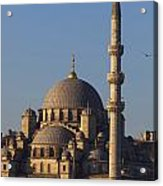 Islamic Mosque Istanbul, Turkey Acrylic Print by Mark Thomas
