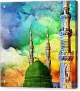 Islamic Painting 009 Acrylic Print by Catf