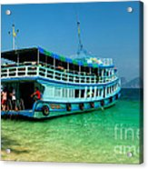 Island Ferry  Acrylic Print