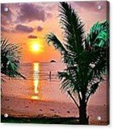Island Glow Acrylic Print