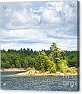 Island In Georgian Bay Acrylic Print