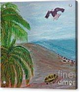 Island In Philippines Acrylic Print