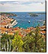 Island Of Hvar Scenic Coast Acrylic Print