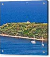 Island Of Susak Cape Church Acrylic Print