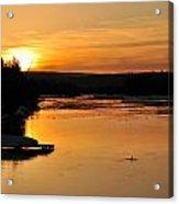 Island Park Sunrise Acrylic Print