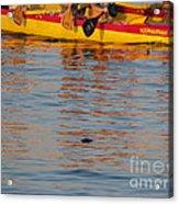 Island Racing Acrylic Print