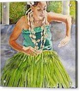 Island Rhythms Acrylic Print