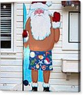 Island Santa Acrylic Print