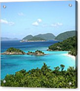 Island Shore Trunk Bay Acrylic Print